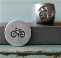 A Supply Guy Design - Bicycle Metal Design Stamp - SGCH-43A