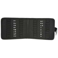 32 Slot Metal Stamp Storage Pouch - SGLPSCASE