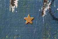 Brass 12mm Star Metal Stamping Blank - 5 Pack - SGMSB-2003