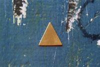 Brass 19mm x 19mm Triangle Metal Stamping Blank - 5 Pack - SGMSB-2020