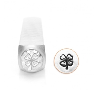 Impress Art Four Leaf Clover Metal Design Stamp - SGSC1510-AA-6MM