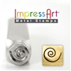 Impress Art Swirl Metal Design Stamp - SGSC1510-H-6MM