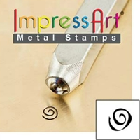 Impress Art Boogie Swirl Metal Design Stamp - SGSC1510-N-3MM