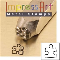 Impress Art Autism Awareness Metal Design Stamp - SGSC1510-Y-6MM