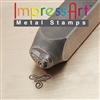 Impress Art Flourish A Metal Design Stamp - SGSC1511-A-6MM