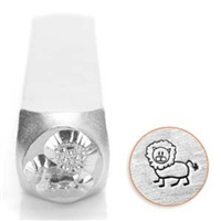Impress Art Leo Lion Metal Design Stamp - SGSC1513-E-6MM