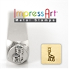 Impress Art Gerry Giraffe Metal Design Stamp - SGSC1513-H-6MM