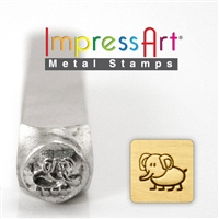 Impress Art Ellie Elephant Metal Design Stamp - SGSC1513-I-6MM