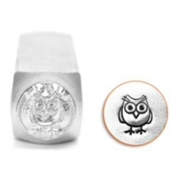 Impress Art Hootie Owl Metal Design Stamp - SGSC1513-L-6MM