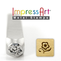 Impress Art Blossom Metal Design Stamp - SGSC1514-A-6MM