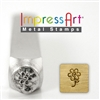 Impress Art Flower Metal Design Stamp - SGSC1514-H-6MM