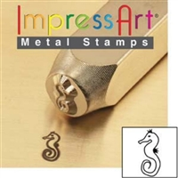 Impress Art Sea Horse Metal Design Stamp - SGSC1519-H-6MM