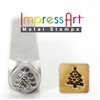 Impress Art Christmas Tree Metal Design Stamp - SGSC1520-E-6MM