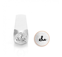 "Impress Art ""Sis"" Word Metal Design Stamp - SGSC1522-AA-6MM"