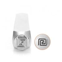 Impress Art Greek Key Metal Design Stamp - SGSC1526-D-6MM