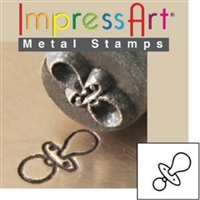 Impress Art Baby Pacifier Metal Design Stamp - SGSC155-G-6MM