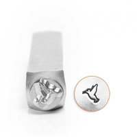 Impress Art Hummingbird Metal Design Stamp - SGSC156-AJ-6MM