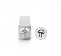 Impress Art Mushroom Metal Design Stamps - SGSC156-BK-6MM