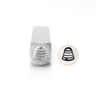 Impress Art Beehive Metal Design Stamp - SGSC156-BL-6MM