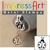 Impress Art Lady Bug Metal Design Stamp - SGSC156-H-6MM