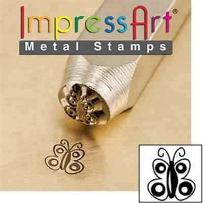 Impress Art Butterfly Metal Design Stamp - SGSC156-T-6MM
