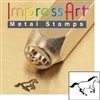 Impress Art Galloping Horse Metal Design Stamp - SGSC156-W-6MM