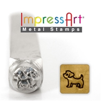 Impress Art Yorkshire Metal Design Stamp - SGSC156-Z-6MM