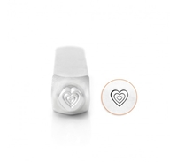 Impress Art Multi Heart Metal Design Stamp - SGSC158-W-6MM