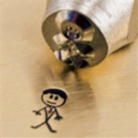 Impress Art Daddy Stick Boy Metal Design Stamp - SGSC159-H-7MM