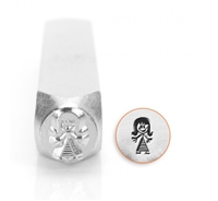 Impress Art Mommy Figure Metal Design Stamp - SGSC159-J-7MM