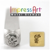 Impress Art Mom/Auntie Metal Design Stamp - SGSC159-L-6MM
