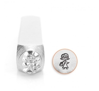 Impress Art Nana Figure Metal Design Stamp - SGSC159-M-7MM