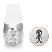Impress Art Groom Metal Design Stamp - SGSC159-U-7MM