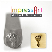 Impress Art Footprints (2 Pack) Metal Design Stamps - SGSC15K-A-FOOTPRINTS