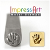 Impress Art Handprints (2 Pack) Metal Design Stamps - SGSC15K-A-HANDPRINTS