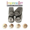 Impress Art Wedding Celebration Set (4 Pack) Metal Design Stamps - SGSC15K-D-6MM
