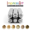Impress Art Symbols & Shapes Series 2 (6 Pack) Metal Design Stamp Set - SGSC15K-M-6PC