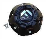 Fuel Gloss Black Center Cap 1002-50GB CAP M-776