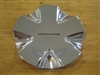 KMC 520 Kingpin Chrome Wheel Rim Center Cap 1002520-1 or 1001520