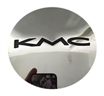 KMC Wheels 1087K69 1087K69-1C Chrome Wheel Center Cap