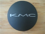 KMC 659 Split Matte Flat Black Snap In Center Cap 1087K69