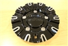 Starr 113 Reward Gloss Black Machine Wheel Rim Center Cap 113S184 Dia 7-1/4""