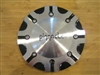 Pinnacle P46 Spade Black Machine Wheel Rim Center Cap 119S180-M 7 1/16