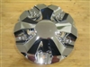 Pinnacle P54 Cruz Chrome Wheel Rim Center Cap 126S180-CAP LG1001-33 6 7/8""