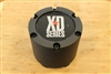 KMC XD Series Matte Black Wheel RIm Snap In Center Cap 1414-1450-CAP 14500XDA