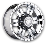 Ion Alloy 182 Chrome Center Cap C1019501 C1019503 C1019502 C1019504-0 C1019505