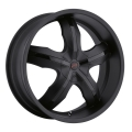 Platinum Widow - 211 - RWD / SUV Matte Black Center Cap