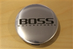 Boss Motorsports 336 338 Brushed Snap In Center Cap 3186 AEWC