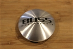 Boss Motorsports Brushed Stainless Machined Snap in Wheel Rim Center Cap 3197