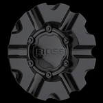 Boss 331 Wheel Black Center Cap